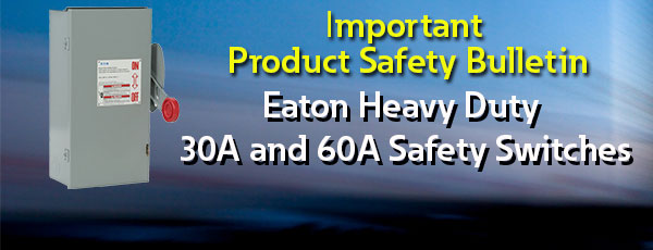 Important Product Safety Bulletin