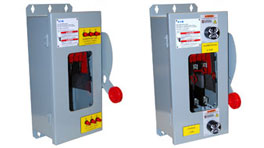 Heavy Duty Voltage Indicator Safety Switch